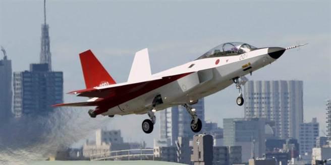 圖為日本為開發新一代戰機所設計的技術驗證機「心神」。(圖/日本防衛省)