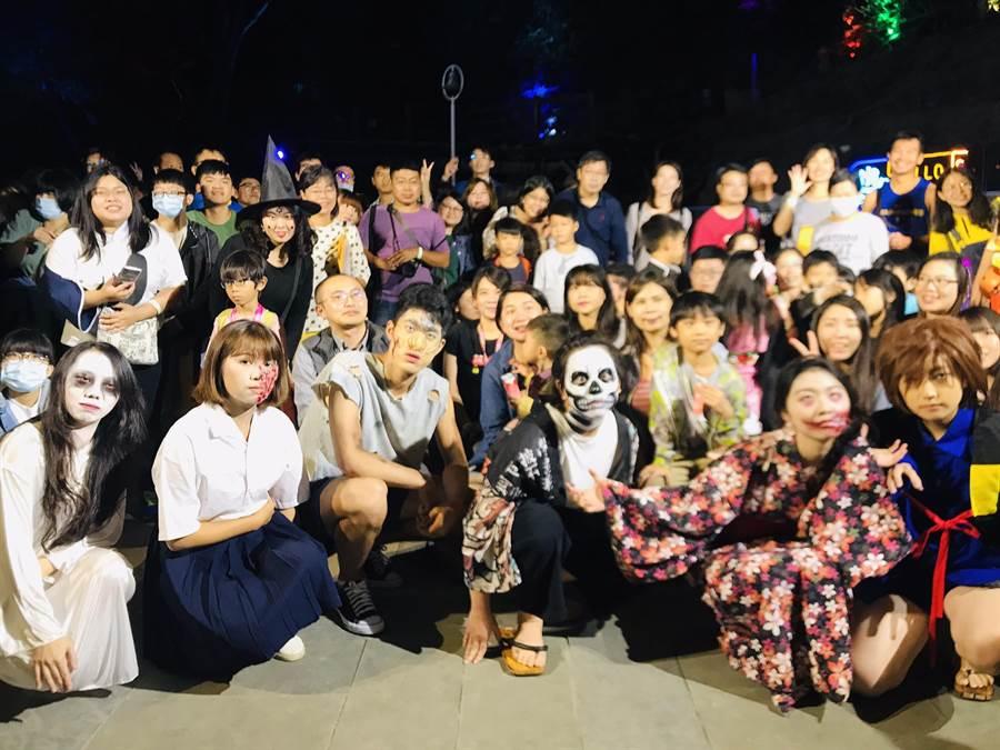 「2020台南關子嶺溫泉美食節」最終場次的主題活動「萬聖妖怪溫泉樂園」,<a href=
