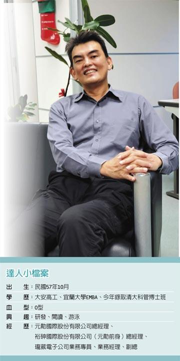 職場達人-元皓國際股份有限公司總經理 吳志賢勇於創業 尋求創新挑戰