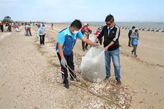 金門全島大淨灘 清除14.5公噸垃圾