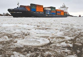 北海航道破冰