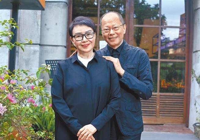 金馬導演張毅和妻子楊惠姍相守34年感情甜蜜。(本報資料照片)