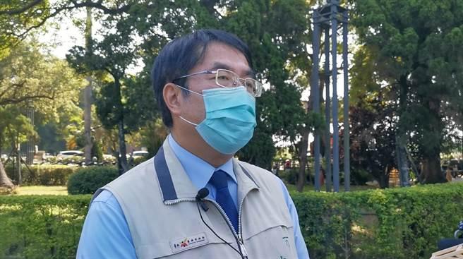 馬來西亞籍女大生在台南校外遇害,家屬預計今晚抵達台灣,台南市長黃偉哲表示將全力協助。(劉秀芬攝)
