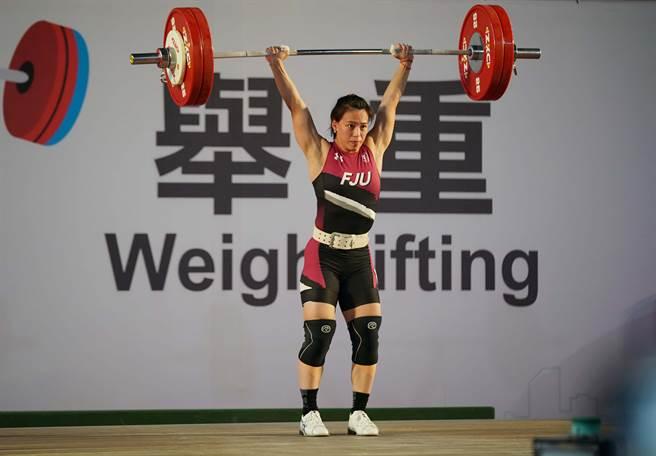 郭婞淳不只在舉重場上表現亮眼,對於其他運動也很有興趣。(大專體總提供)