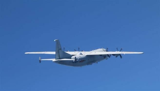國防部證實,今日上午有1架運8技術偵查季進入我西南空域。(國防部提供)