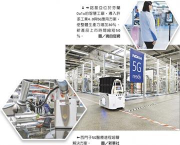 工業機器人注入5G技術 未來工廠不是夢