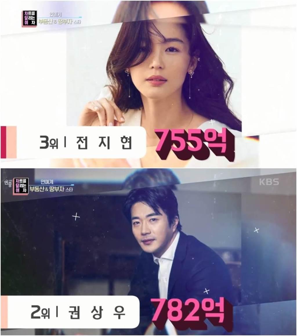 韓星房產富豪榜曝光 「全智賢755億身價」竟輸給這對夫妻(圖/YOUTUBE)