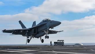 助印度抗中 美同意售F18戰機為印航母艦載機