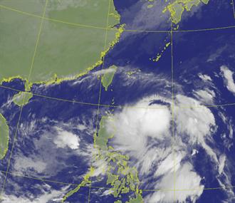 今晚起連雨3天!閃電颱風路徑出爐 周四五影響台灣