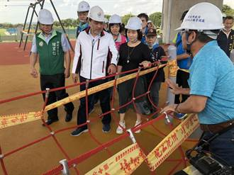 侯友宜視察台65橋下高灘地 宣布「大河之舟」計畫啟動
