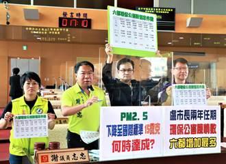 盧秀燕上任致力反空汙 市議員批近兩年環保公害陳情數六都增加最多