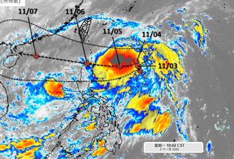 閃電颱風打轉2天 專家示警:若偏北不排除發海警