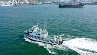 新造巡防艇抵蘇澳 海巡執法添利器