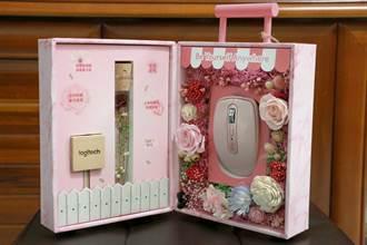[開箱]羅技旗艦滑鼠MX Anywhere 3禮盒 展現粉紅女力