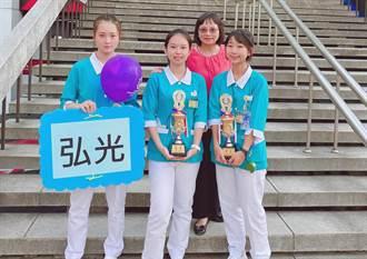 弘光舉辦台灣技優護生實作競賽 護理科2生獲佳績