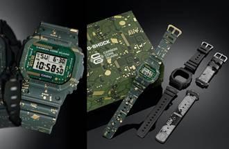 超潮「電路板」也可以驚喜變身改裝 多元風格一錶搞定