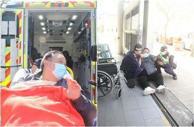 香港資深藝人秦煌被發現倒在電視台門口,所幸他意識清楚,緊急送醫後並無大礙。(圖/取材自東網)