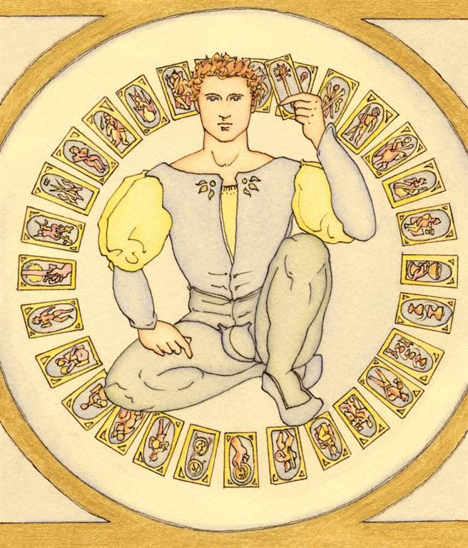 塔羅的歷史 英國的神秘學組織開始(圖/左西心創藝提供)