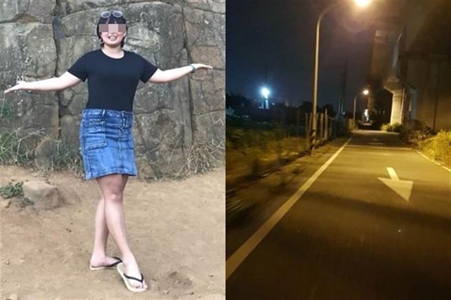 台南長榮大學馬來西亞籍24歲鍾姓女大生(左圖),28日晚間從學校返回宿舍途中遇害,遭棄屍在阿蓮山區。(圖/截自Dcard)
