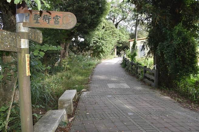 苗栗縣政府文觀局將大湖薑麻園步道列為無痕山林示範。(謝明俊攝)