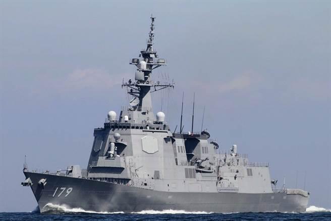 日本最新型的摩耶號神盾驅逐艦,能同時應對巡航導彈、彈道導彈與空中的戰機威脅。長170米,寬21米。(圖/日本海上自衛隊)