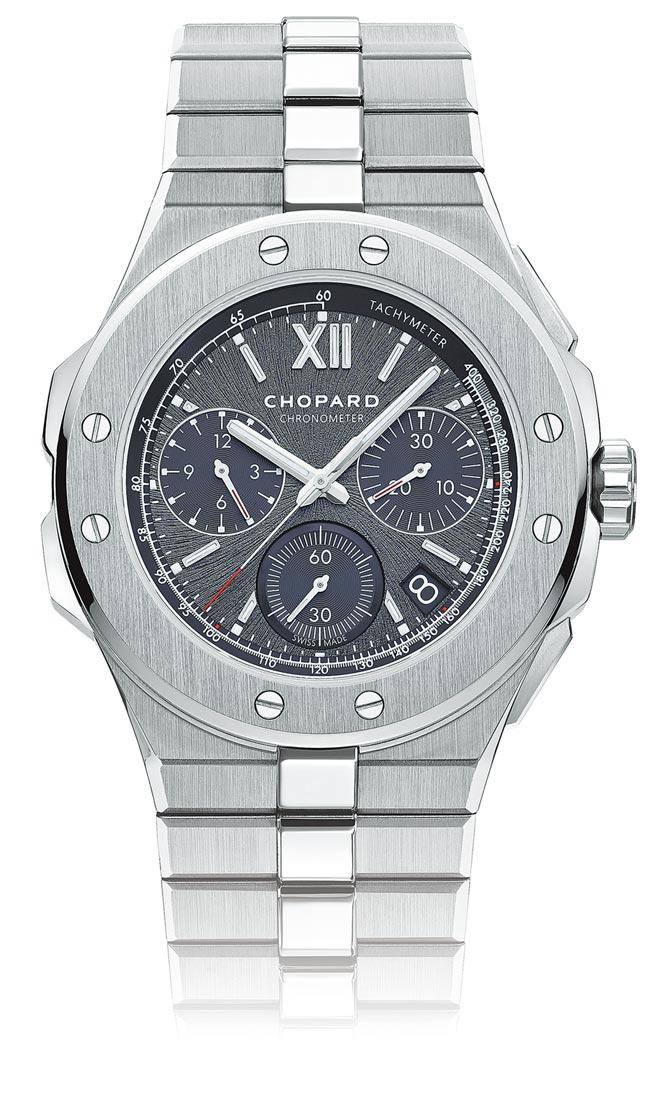 CHOPARD Alpine Eagle XL Chrono,67万9000元。(CHOPARD提供)