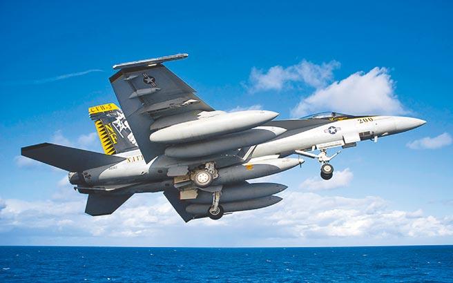 美軍F/A-18「超級大黃蜂」戰機。(取自波音官網)