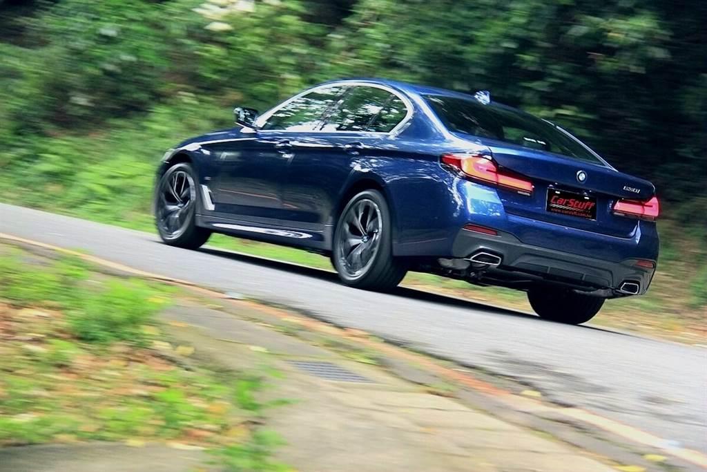 BMW小改款5系列兩大革新亮點 & 530i M Sport試駕心得