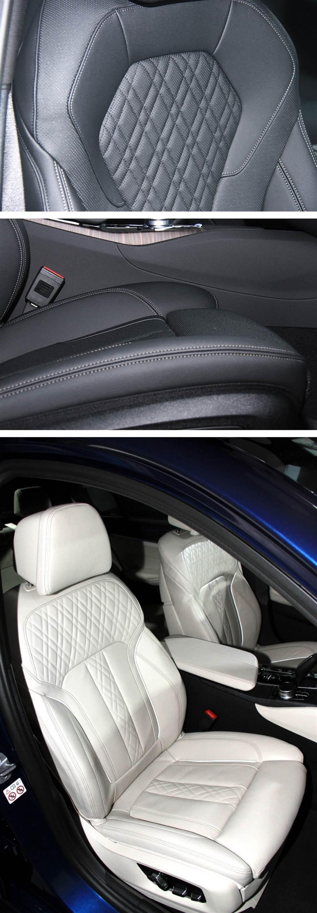 530i M Sport升級Nappa菱格紋皮革須加價7萬。