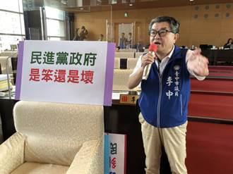 李中引柯的話「民進黨是笨還是壞?」抨擊政府陷全民於不安