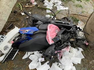 東華大學路段發生車禍 女大生遭夾擊一度危急