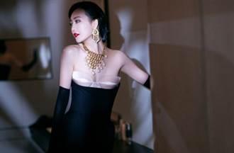 170cm《瑯琊榜》女星修身裙大膽拼接內衣 惹火外穿化身激瘦小野貓