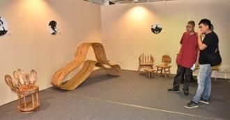 樹科大4校應用家具聯展 盼喚起民眾對國產木材回憶