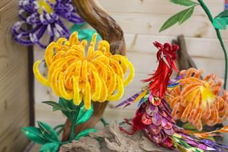 台灣工藝之家林佩瑩 創造幸福「纏」繞的花花世界