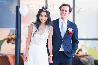獨/妮可醬成員Molly被爆密婚 婚禮照片曝光