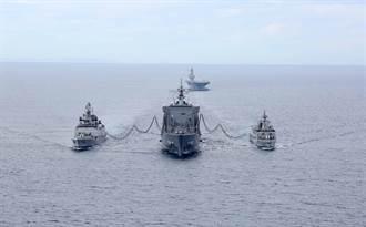 聯手應對陸擴張 美日澳印海上聯合軍演高調登場