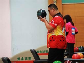 109全身障運保齡球比賽 台中市代表隊首面金牌入袋