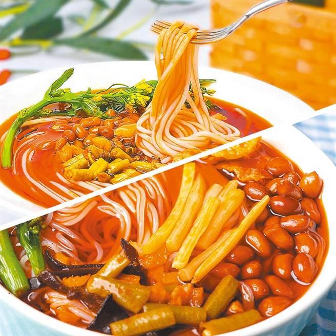 柳州螺螄粉是由一位作家將它由路邊攤小吃帶入快煮即食包裝及網購市場。(圖/微博)