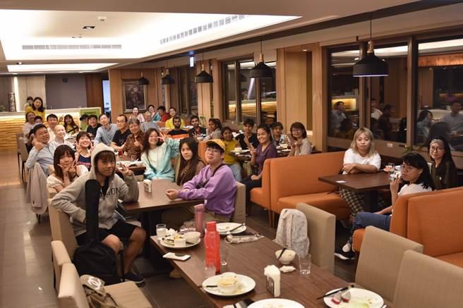 玄奘大學國際學生迎新活動。(玄奘大學提供)