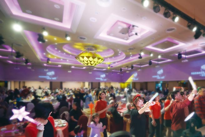 台北福華宴會廳是舉辦尾牙春酒企業歡聚首選。圖/福華提供