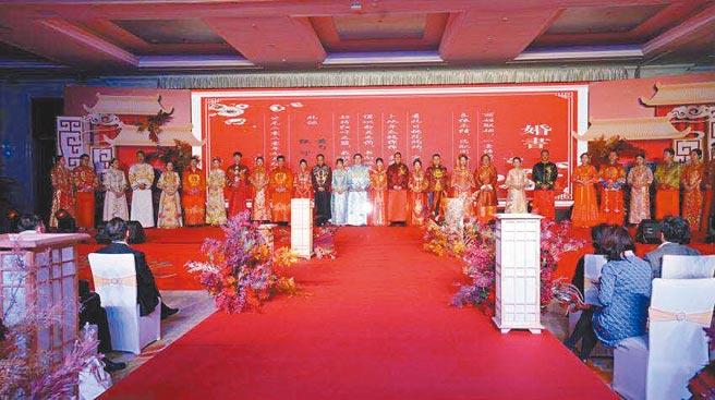 20對寧台伉儷到場參加活動。