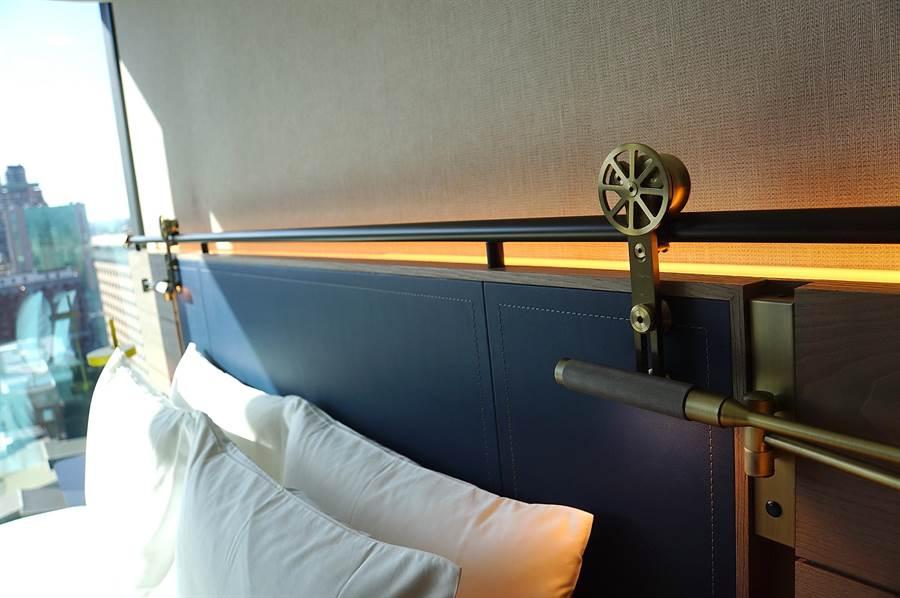 「膠卷盒 Film Box」元素也被運用在〈台北時代寓所〉的客房中。(圖/姚舜)