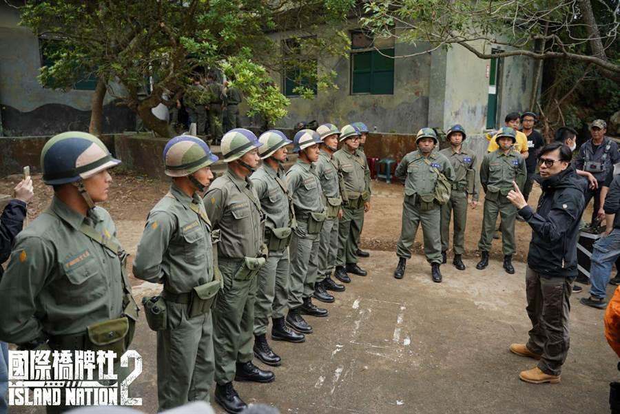 剧组于马祖军事据点实景拍摄。(国际桥牌社提供)