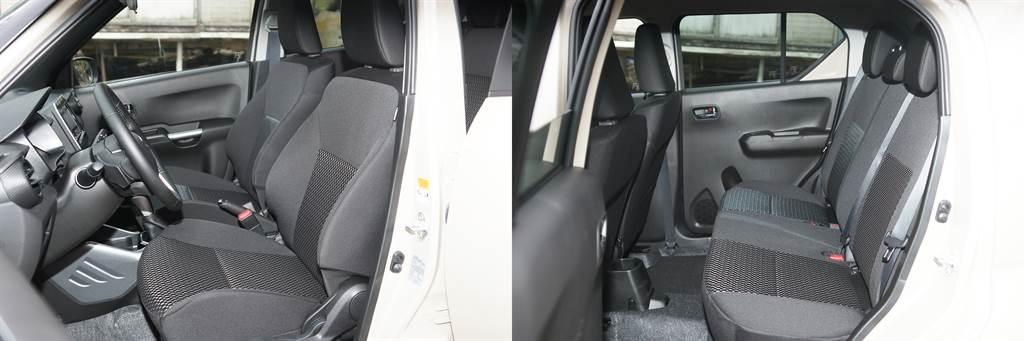 較高的著坐點提供良好的視野,同時下車也很方便。