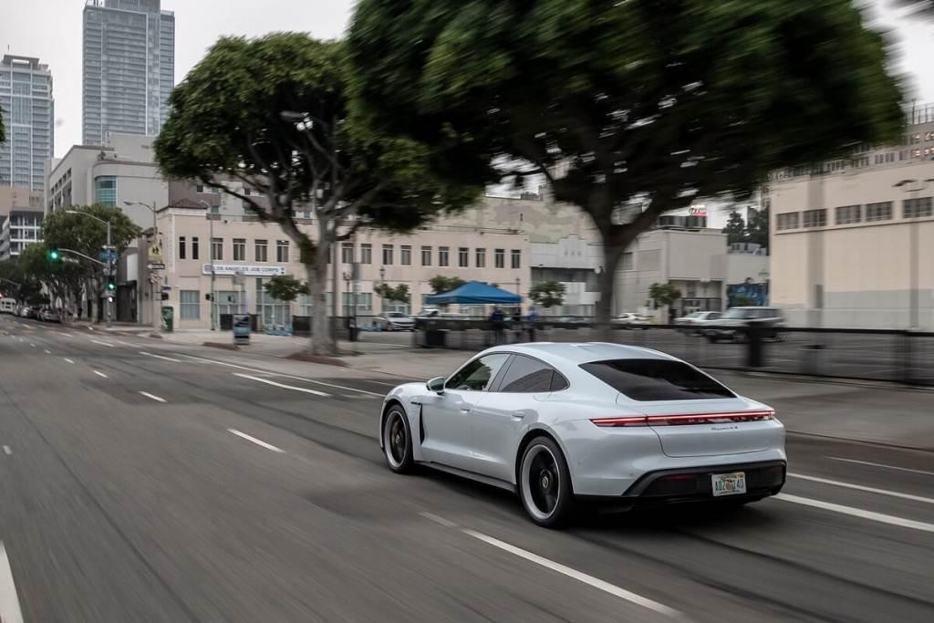 Porsche Taycan的驚人細節:新年式將引入更先進的技術
