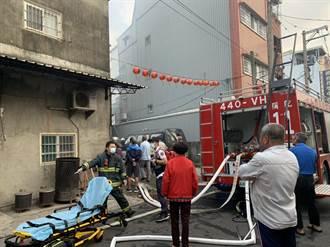 彌陀民宅火警 消防人員救出2受困民眾