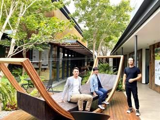 垂直綠化到木構建築 環境永續觀念超前部屬