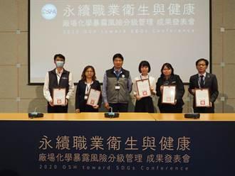 鼓勵企業推動職場安全衛生永續發展 職安署展現化學品分級管理成果