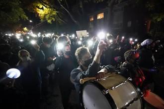 美大選選情膠著 波特蘭傳出抗議活動