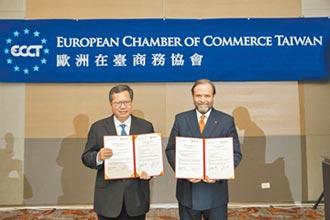 歐洲商會與桃市府簽MOU